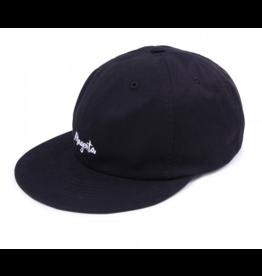 Magenta Logo Hat Black