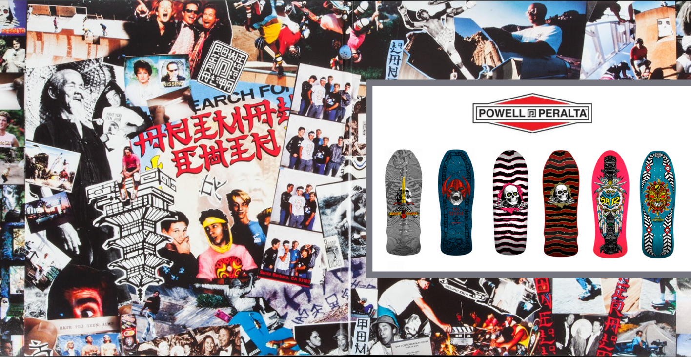 Powell Peralta Spring 2021 Re-Issue  Boards
