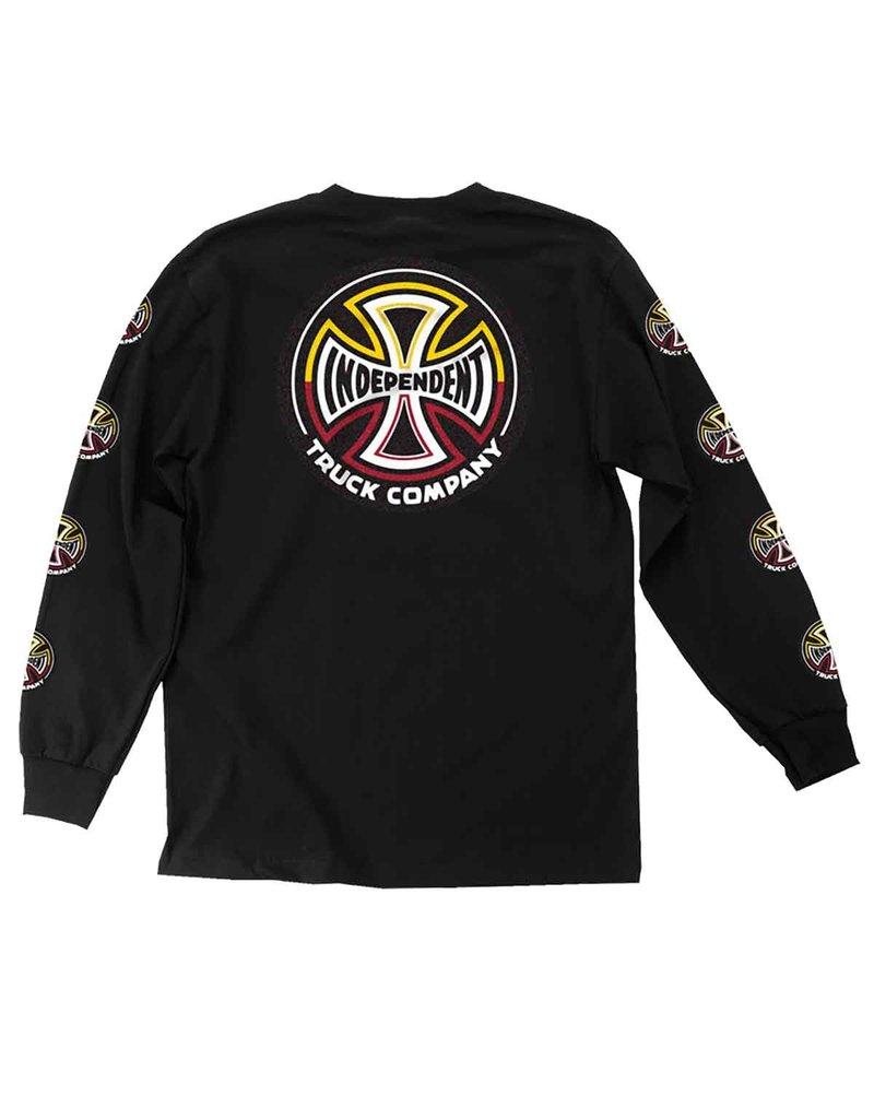 Independent Independent Split Cross L/S T-Shirt