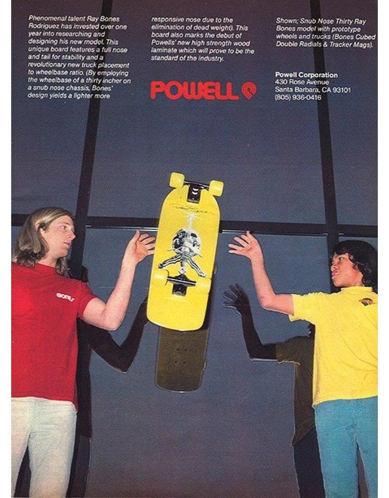 Powell Peralta Powell Peralta Rodriguez OG Skull & Sword Deck (10.0) Silver