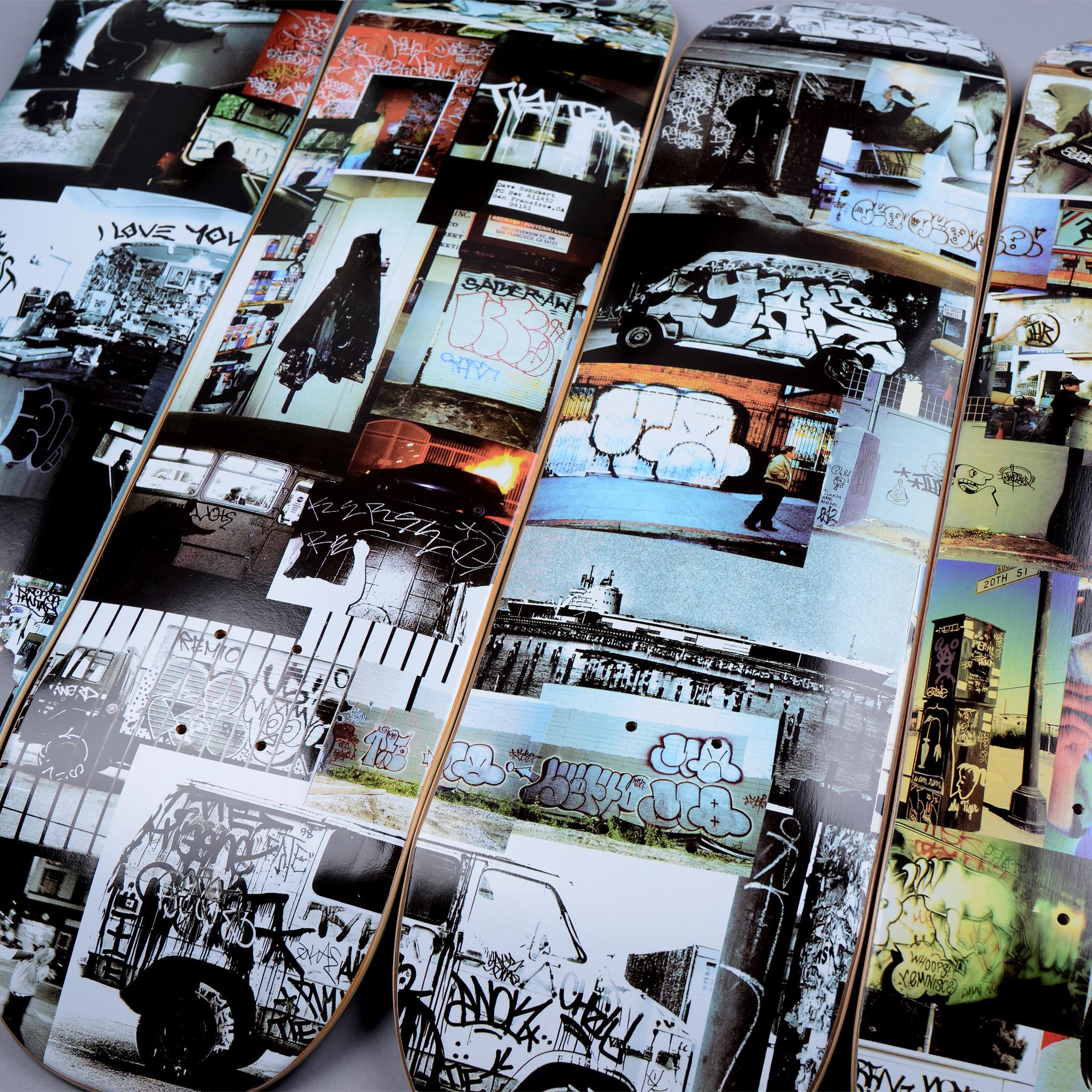 GX1000 Dave Schubert Grafffiti Decks online canada