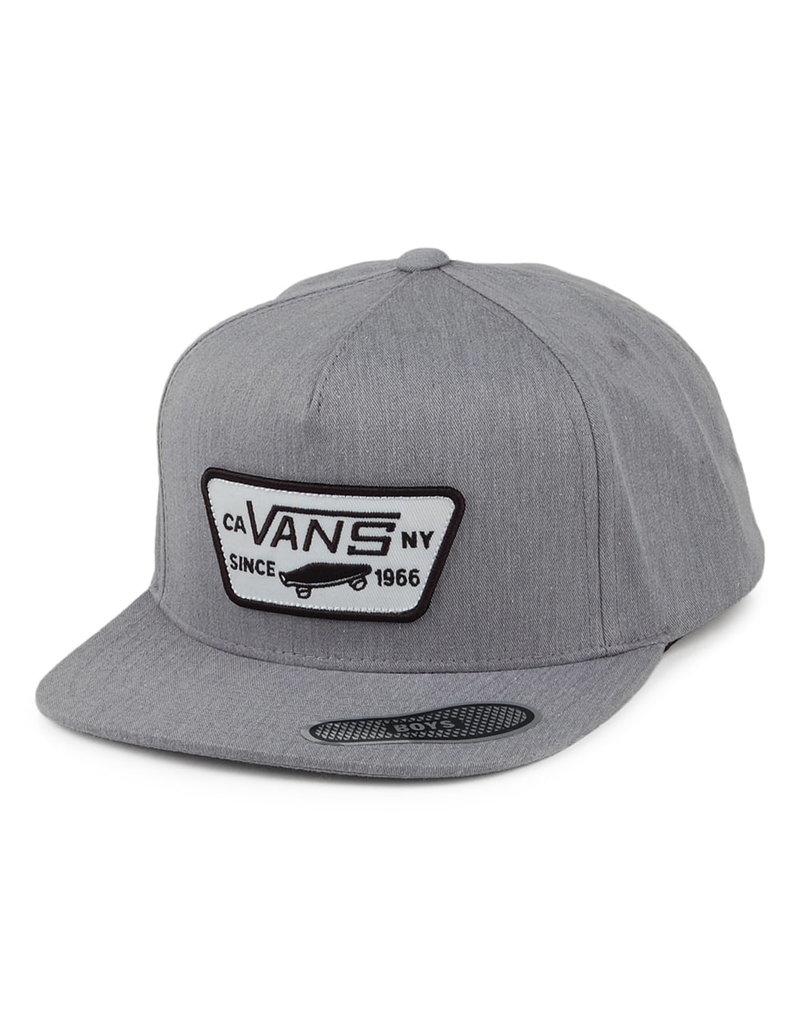 Vans Vans Kids Full Patch Snapback Hat (heather grey)
