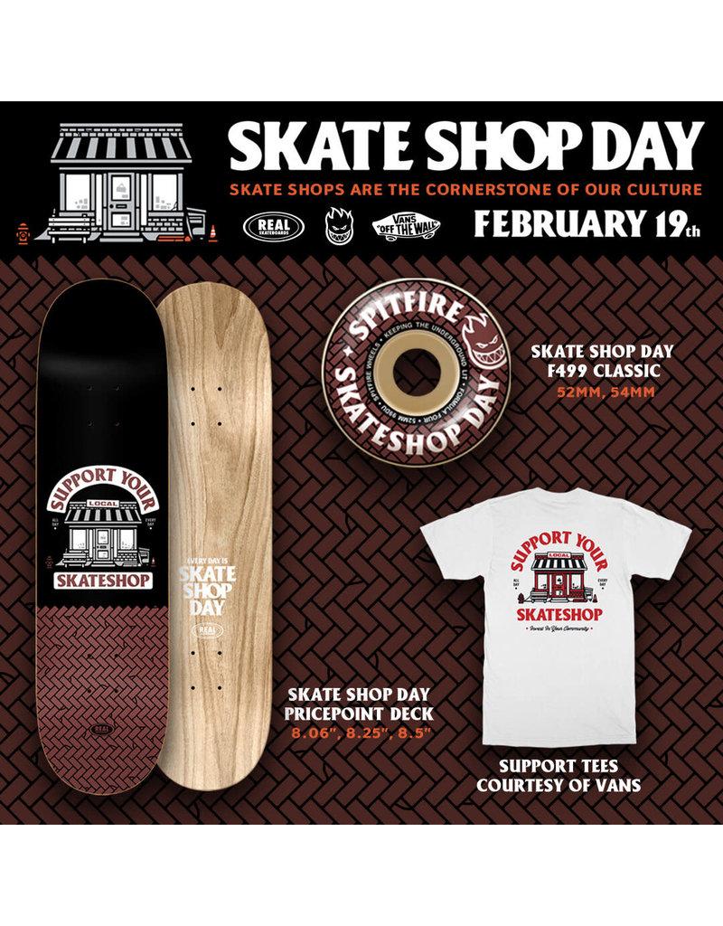 Real Real Skateshop Day Deck