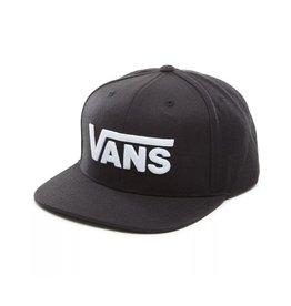 Vans Vans Kids Drop V II Snapback Hat (Black/white)
