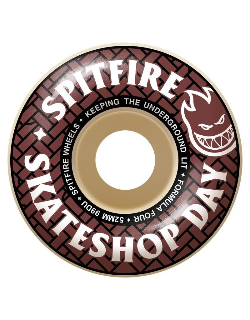 Spitfire Spitfire x Skateshop Day Formula Four 99D Wheels