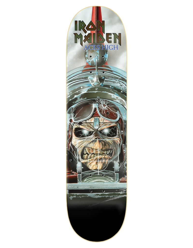 Zero X Iron Maiden Aces High Deck (8.375)