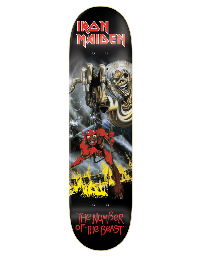 Zero X Iron Maiden The Number Of The Beast Deck (8.0)