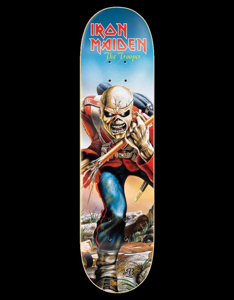 Zero Iron Maiden The Trooper album skateboard deck