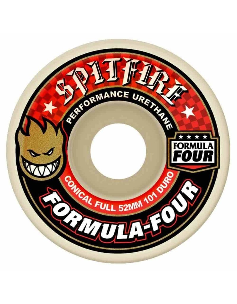 Spitfire Spitfire Formual Four Conical Full 101D Wheel (52mm)