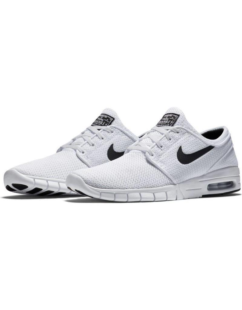 57f090d6e8a8 Nike SB Janoski Max Shoes White White - Shredz Shop