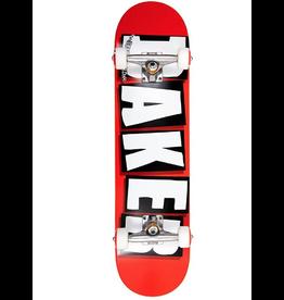 Baker Baker Red Brand Logo Skateboard Complete (8.0)