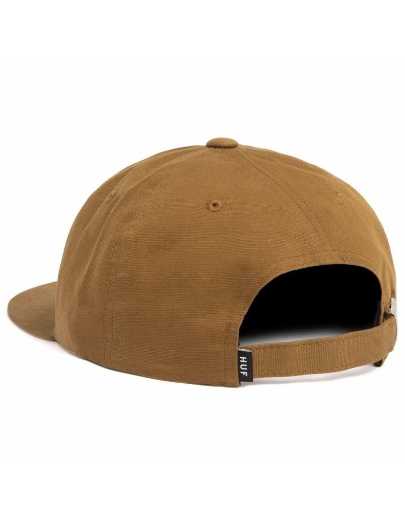 Huf Huf 100% Pure 6 Panel Hat (Toffee)