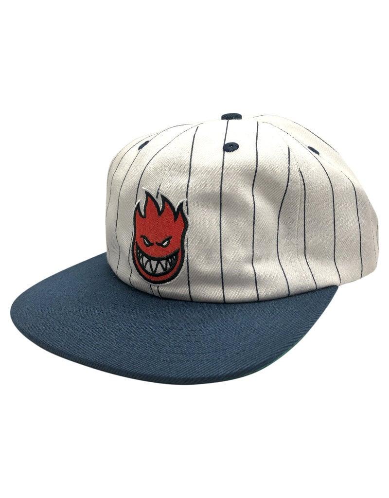 Spitfire Spitfire Lil Bighead Fill Strapback Hat (Pinstripe /Navy)