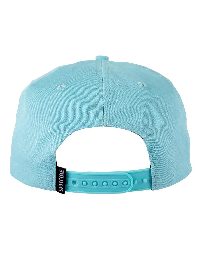Spitfire Spitfire Bighead Snapback Hat (Blue White)