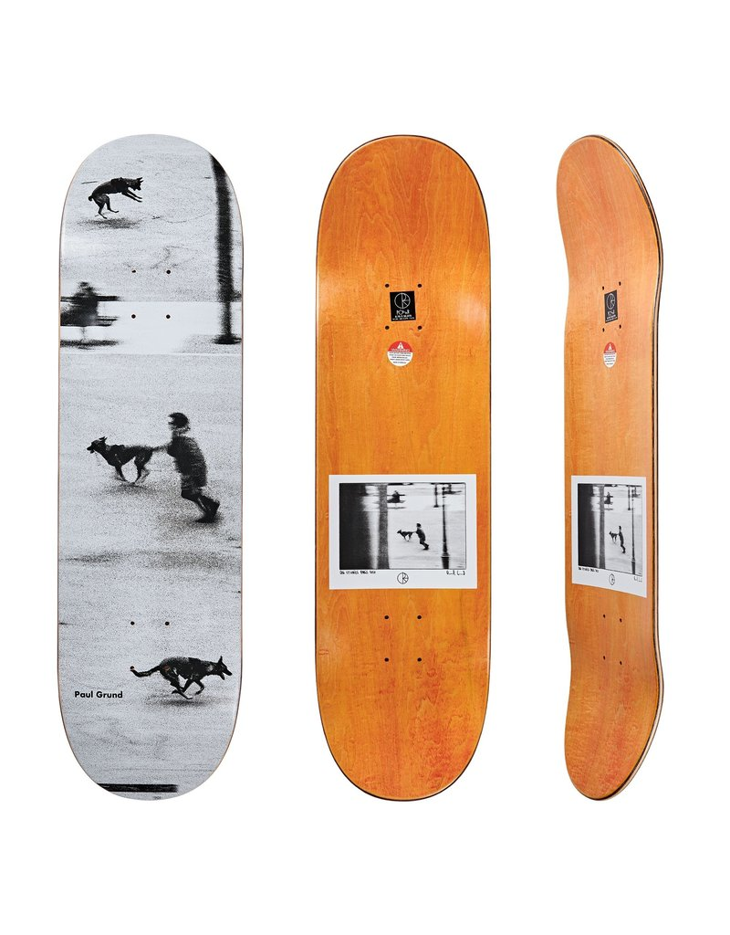 Polar Polar Paul Grund Dog Studies Deck (8.75)