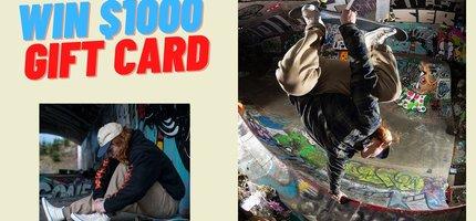 Win $1000 Gift Card To Shredz