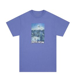 Fucking Awesome Fucking Awesome Helicopter T-Shirt (Violet)