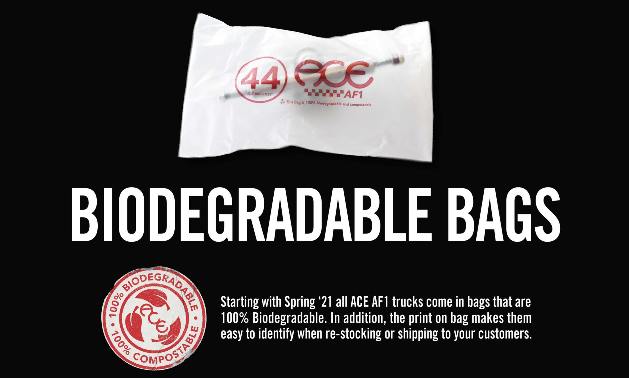 ace trucks reuasalbe bags