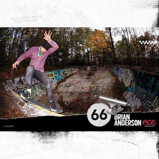 Brian Anderson ACE trucks ad