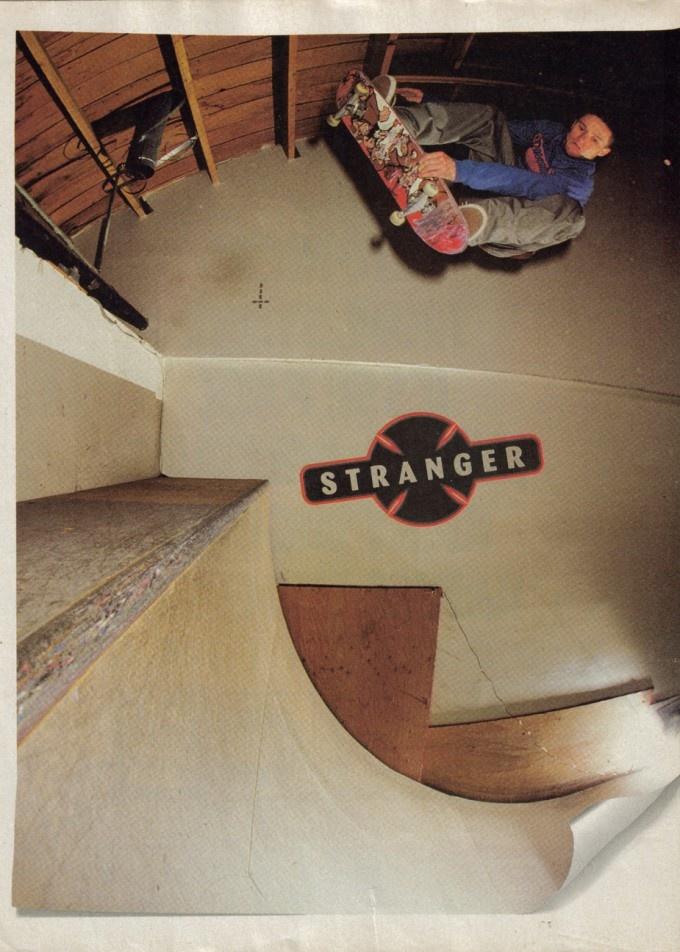 Julien Stranger Independent Trucks Ad