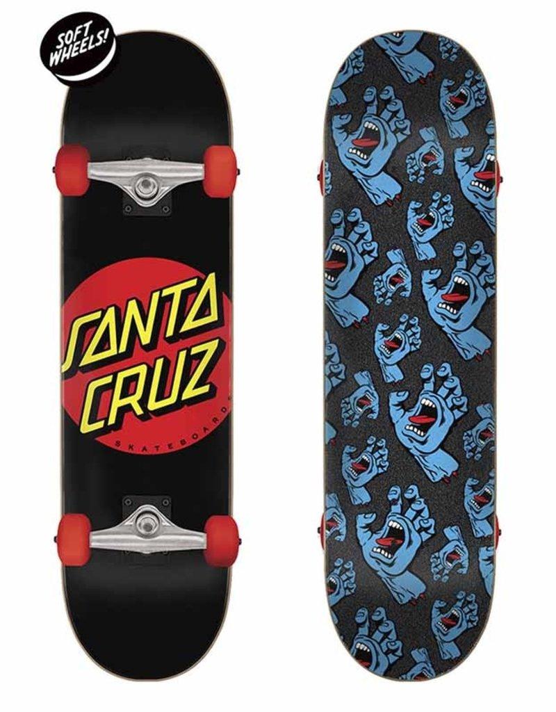 Santa Cruz Classic Dot Super Micro Skateboard Complete (7.25)