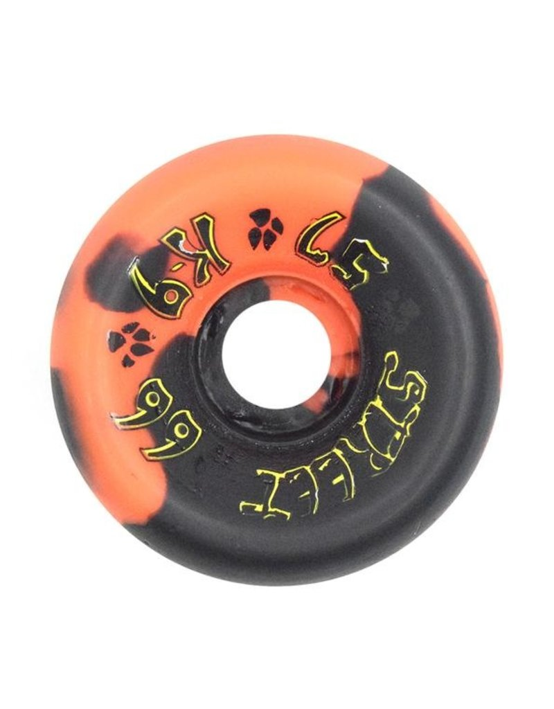 Dogtown Dogtown K-9 80's Street Wheels 99a (57mm) Orange/Black