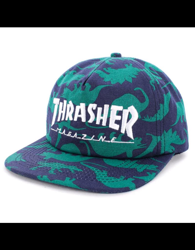 Thrasher Thrasher Dino Print Mag Logo Snapback Hat