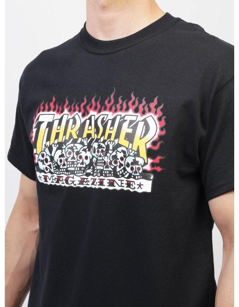 Thrasher Thrasher Krak Skull T-Shirt