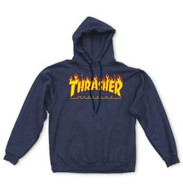 Thrasher Thrasher Fire Logo Hoodie