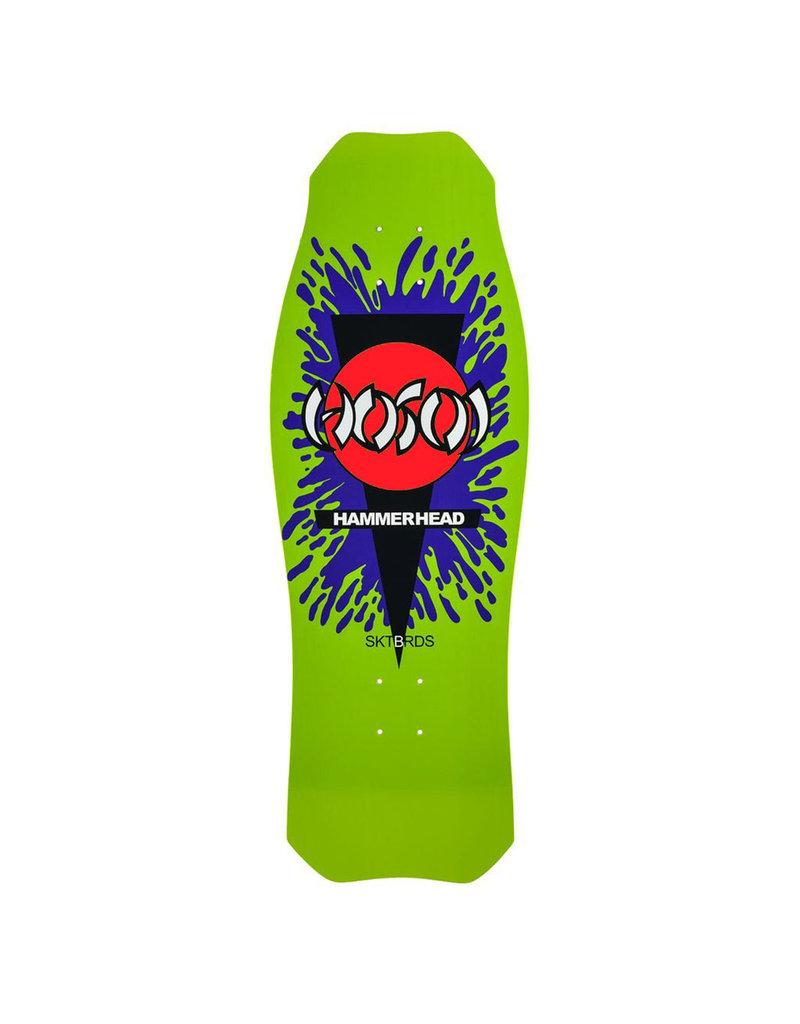 Hosoi Skateboards Hosoi O.G. Hammerhead Splat Deck  (10.5) Green