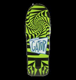 Vision Skateboards Vision Gator II Re-Issue Deck (10.25) Black/Green