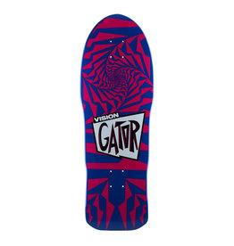 Vision Skateboards Vision Gator II Re-Issue Deck (10.25) Blue/Pink