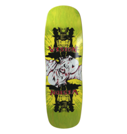 Vision Skateboards Vision Double Vision Re-Issue Deck (9.5) Lime