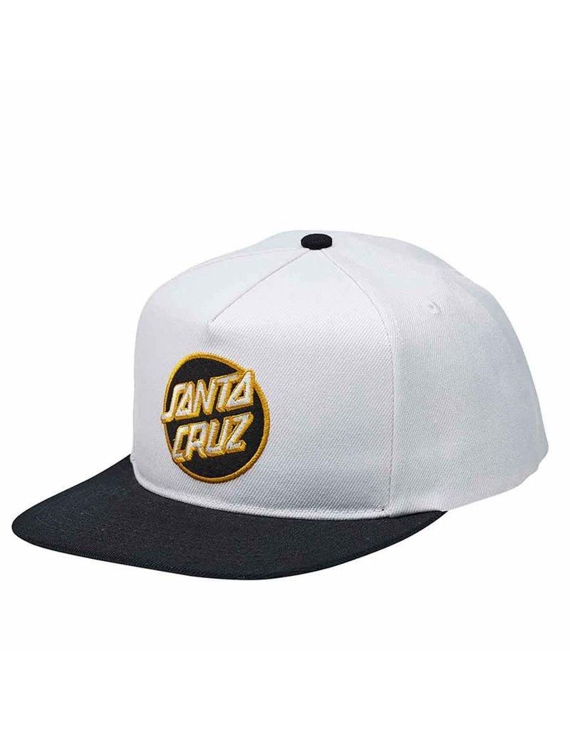 Santa Cruz Other Dot Snapback Off White /Black