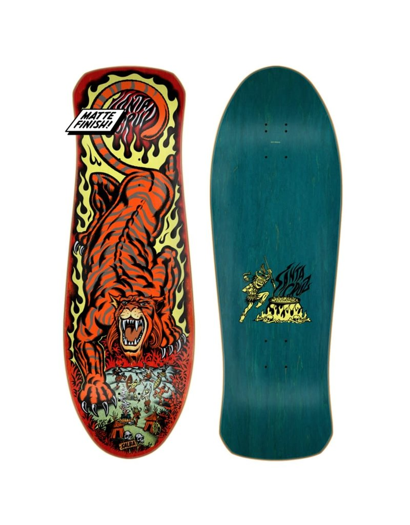 Santa Cruz Salba Tiger Re-Issue Deck (10.3)