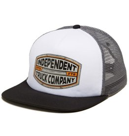 Independent Independent ITC Curb Mesh Trucker Hat One Size Gray