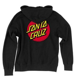 Santa Cruz Classic Dot Youth Zip Up Hoodie