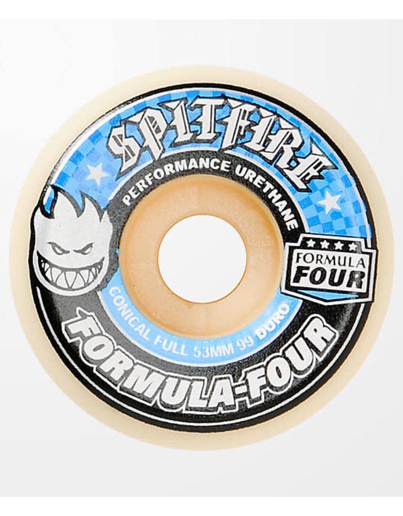 Spitfire Spitfire Formula Four Conical Full 99D Wheels (53mm)