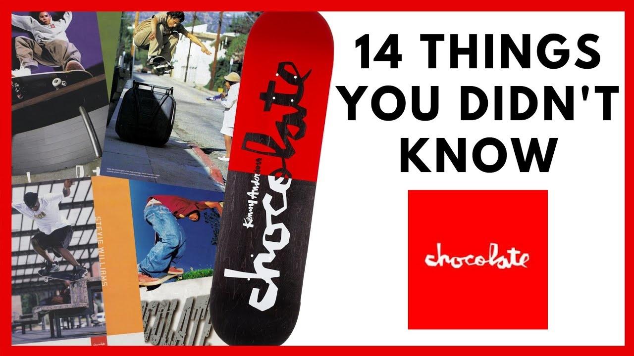 14 Things: Chocolate Skateboards