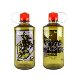 Welcome Welcome Krampus Nalgene Bottle (Olive)