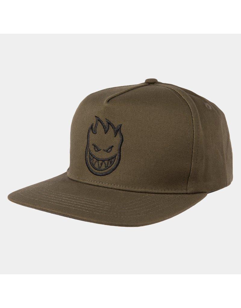 Spitfire Spitfire Bighead Snapback Hat (Olive/Black)