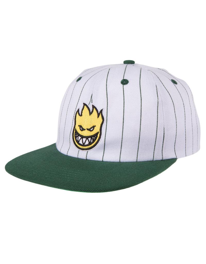 Spitfire Spitfire Lil Bighead Fill Strapback Hat (Pinstripe/Green)