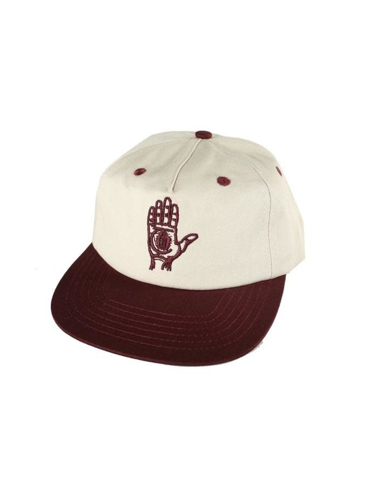 Theories Theories Hand Of Theories Snapback Hat (pearl red)