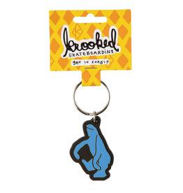 Krooked Krooked Shmoo Keychain (Blue)