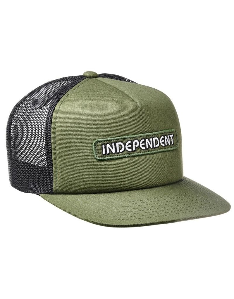 Independent Independent B/C Groundwork Mesh Hat Army/Black