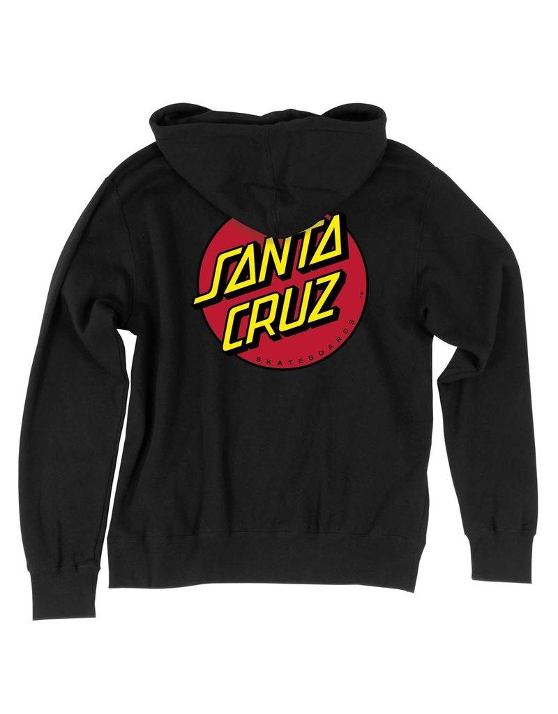 Santa Cruz Classic Dot Zip Hoodie
