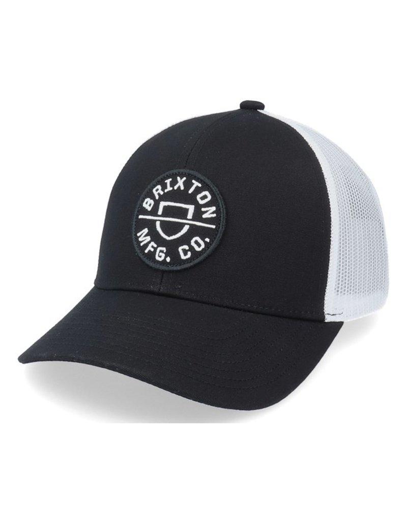 Brixton Brixton Crest X Mesh Hat (Black)