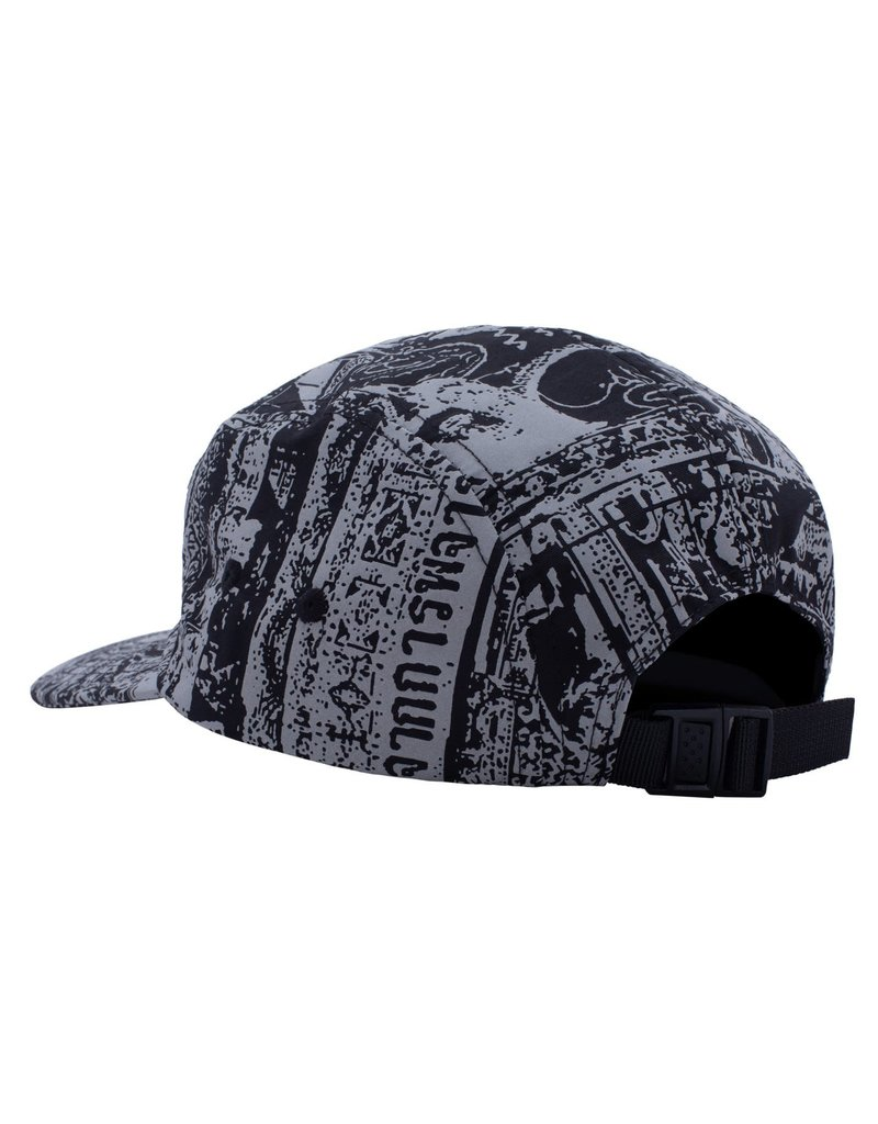 Fucking Awesome Fucking Awesome Acupuncture Volley Strapback Hat (Black)