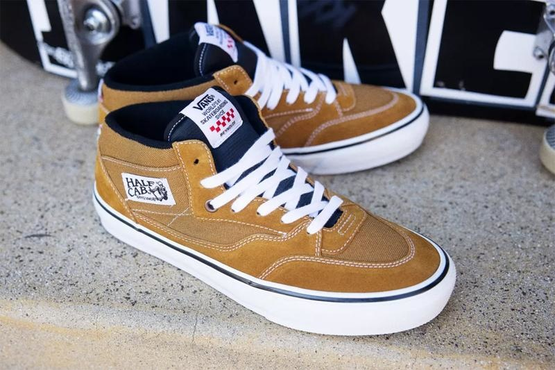 Vans Reynolds Half Cab pro shoes golden brown online Canada