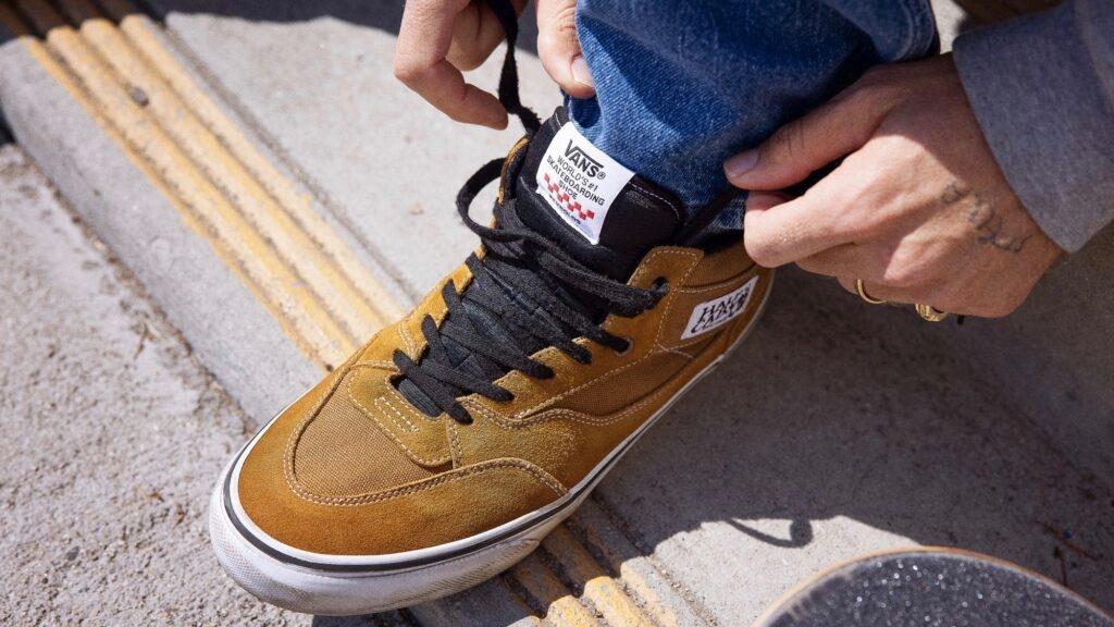 Vans Andrew Reynolds Half Cab Shoes Golden Brown